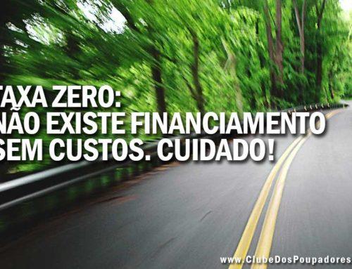 Financiamento de Carro com Taxa Zero de Juros