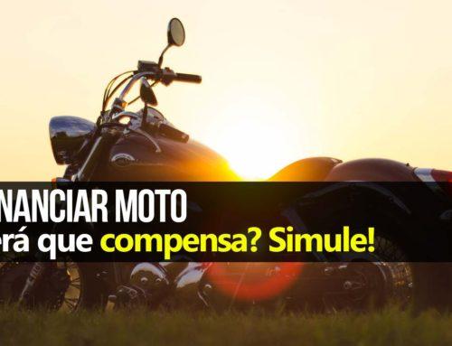 Comprar moto financiada ou à vista?