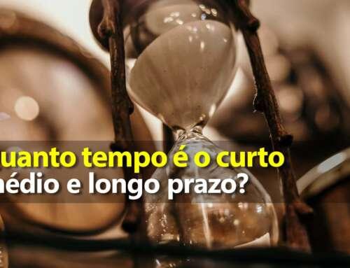Quanto tempo é curto prazo, médio prazo e longo prazo