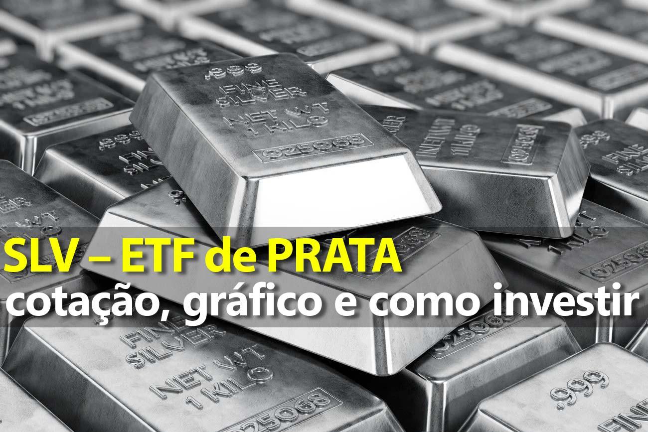 Investir em Prata pelo ETF SLV – Gráfico e Preço