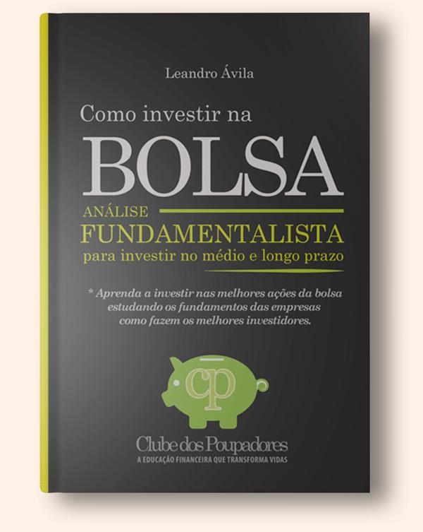 Clique para conhecer o livro Como Investir na Bolsa por Análise Fundamentalista