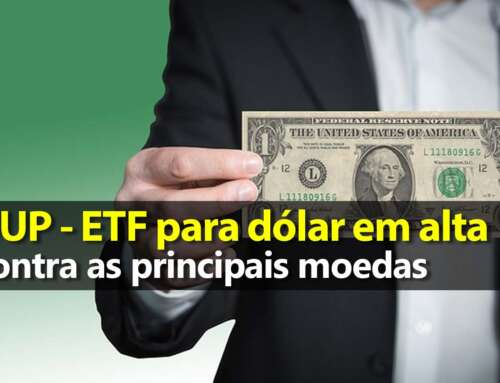 UUP – ETF para dólar em alta – Gráfico Atualizado