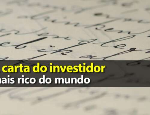 Carta do investidor mais rico do mundo