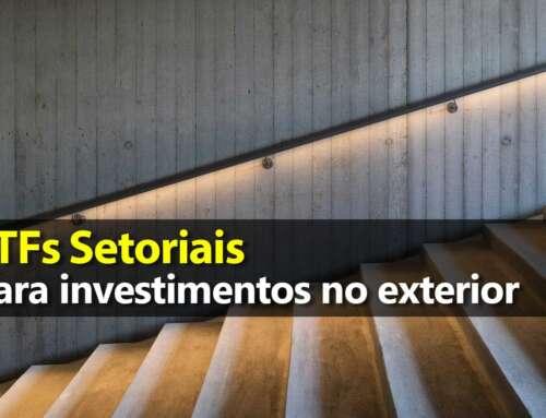 Gráfico: Setores da Economia – ETFs Setoriais EUA